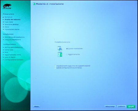 Come installare Opensuse 11.3 - How to install Opensuse 11.3-06_selection_kind_installation.jpg