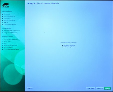 Come installare Opensuse 11.3 - How to install Opensuse 11.3-15_partitioner_07.jpg