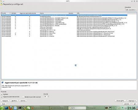 Come configurare il desktop in Opensuse 11.3 - How to configure desktop in Opensuse 11.3-repositories.jpeg