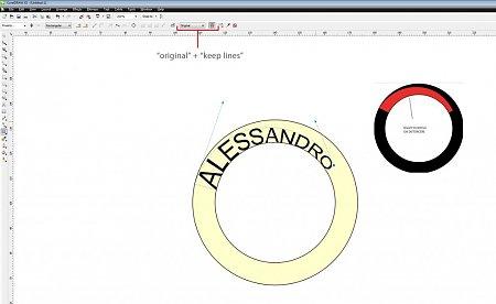 Corel draw inserire oggetto su tracciato-alessandro.jpg