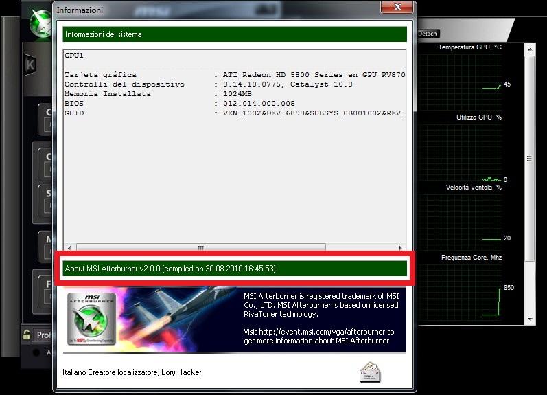 MSI Afterburner 2 0 0 beta 6 release