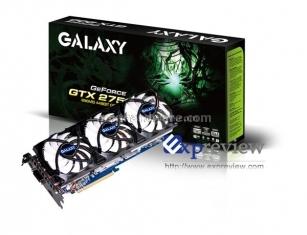 La nuova GeForce GTX 275 di Galaxy