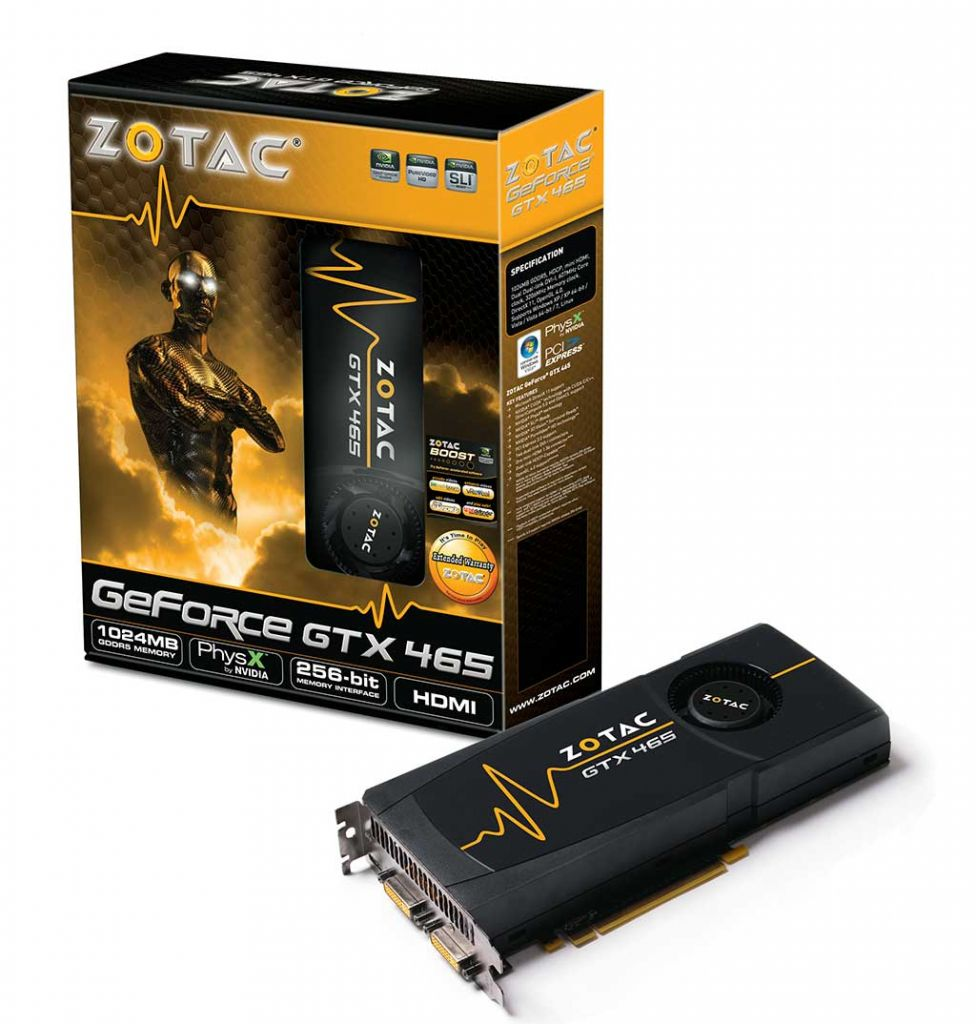 Zotac GTX 465