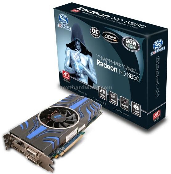 Sapphire Radeon HD 5850 Toxic 2GB 1