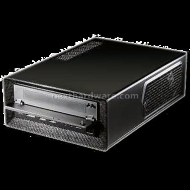 Antec isk 300 65 mini itx per tutti recensione for Case modulari molto compatte