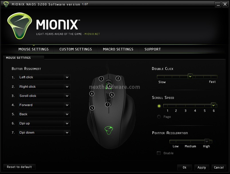 Mionix naos 3200 topic ufficiale tom 39 s hardware italia for Recensioni di software planimetrie
