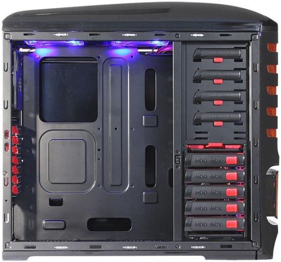 Cooltek presenta lo chassis ultimate for Grandi case cabinate