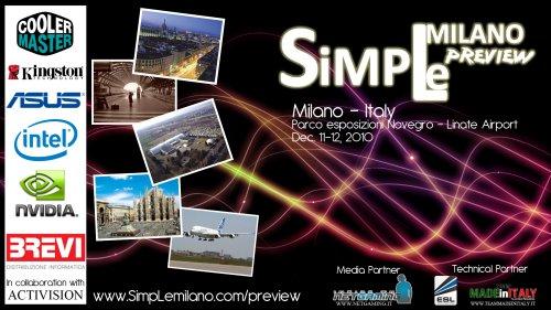 SIMPLE MILANO preview 11-12 Dicembre 2010 1