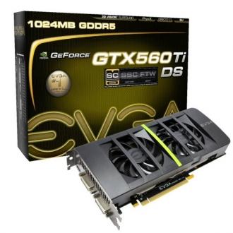 EVGA rilascia le GTX580 e la GTX560 Ti DS Superclocked 3