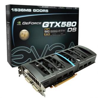 EVGA rilascia le GTX580 e la GTX560 Ti DS Superclocked 1