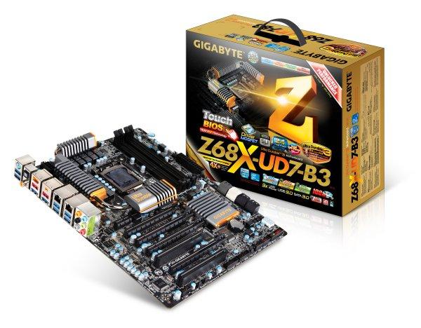 GIGABYTE presenta ufficialmente le nuove motherboards Z68  1