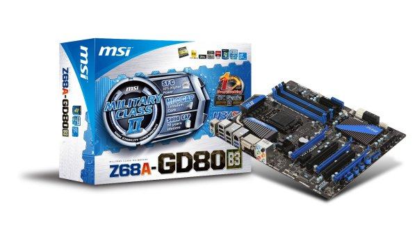 MSI lancia la propria serie di schede madri Z68 1