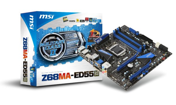 MSI lancia la propria serie di schede madri Z68 2