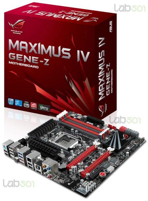In arrivo la Asus Maximus IV GENE-Z 1