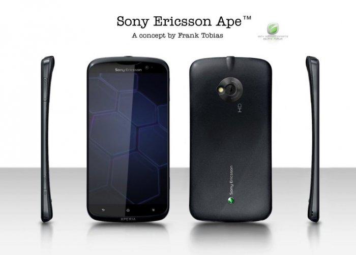 Sony Ericsson Ape Concept Xperia Series 1