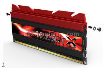 G.Skill annuncia le memorie Trident X Series DDR3 2800MHz 4