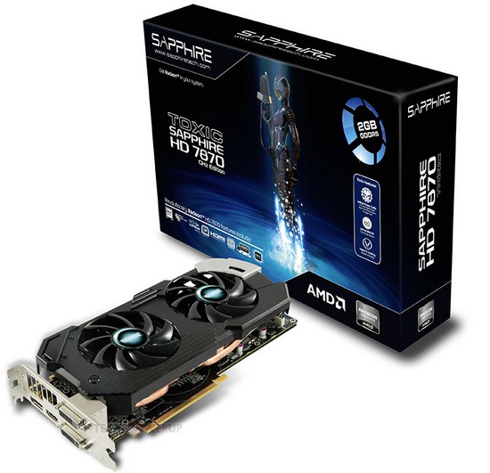 Sapphire lancia la Radeon HD 7870 Toxic 2GB 1