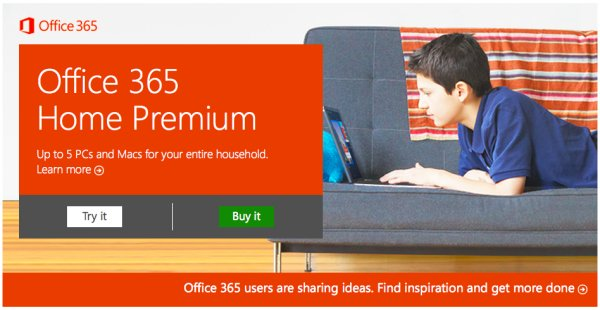 microsoft lancia office 365 home premium. Black Bedroom Furniture Sets. Home Design Ideas