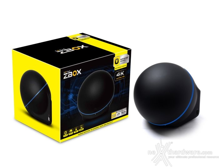 ZOTAC svela la nuova serie ZBOX Sphere OI520 1