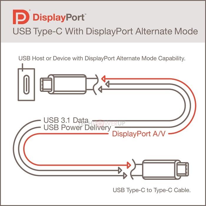 VESA porta il DisplayPort sull'USB Type-C  2