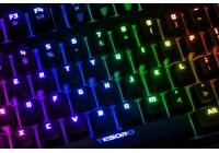L'ultima versione della meccanica Tesoro avrà una illuminazione multicolore per tasto con effetti speciali.