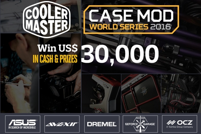 Al via le Case Mod World Series 2016 1