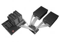 Un interessante dispositivo che permette il collegamento di due alimentatori in modalità ridondante o combinata.