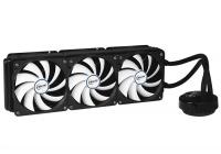Un sobrio ed economico AiO con radiatore triventola in grado di raffreddare efficacemente qualsiasi CPU.
