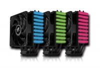 Corpo dissipante completamente nero e sistema di illuminazione a LED RGB per la gioia degli appassionati di modding.