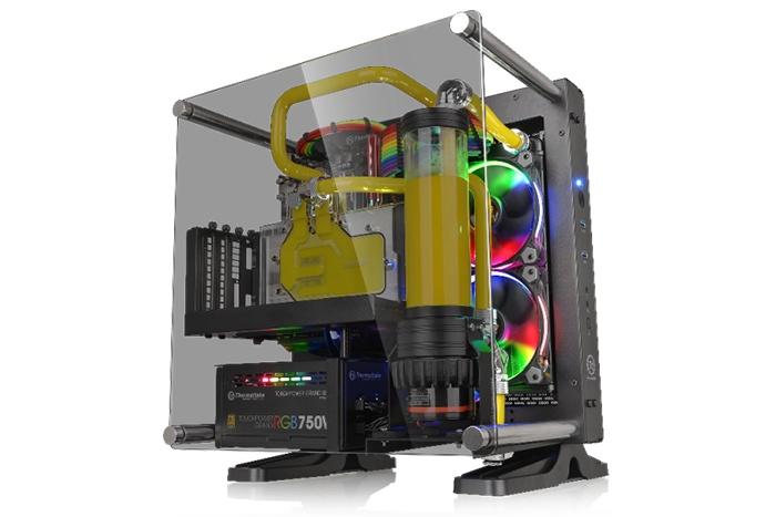 Thermaltake Core P1, un Wall Mount anche in versione ITX 1