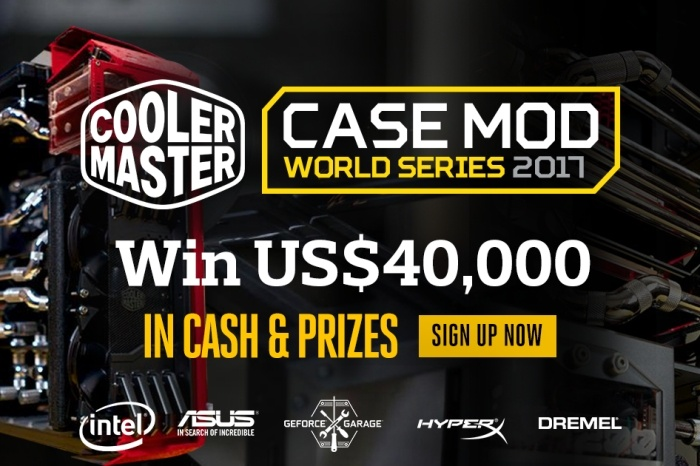 Cooler Master lancia le Case Mod World Series 2017 1