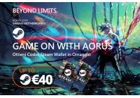 Sino a 40 euro in codici Steam Wallet con l'acquisto di mainboard AORUS Z370.