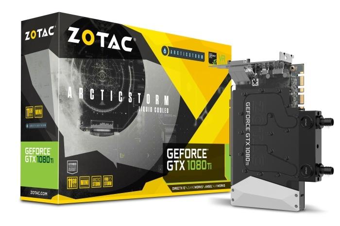 ZOTAC annuncia la GTX 1080 Ti ArcticStorm Mini 1