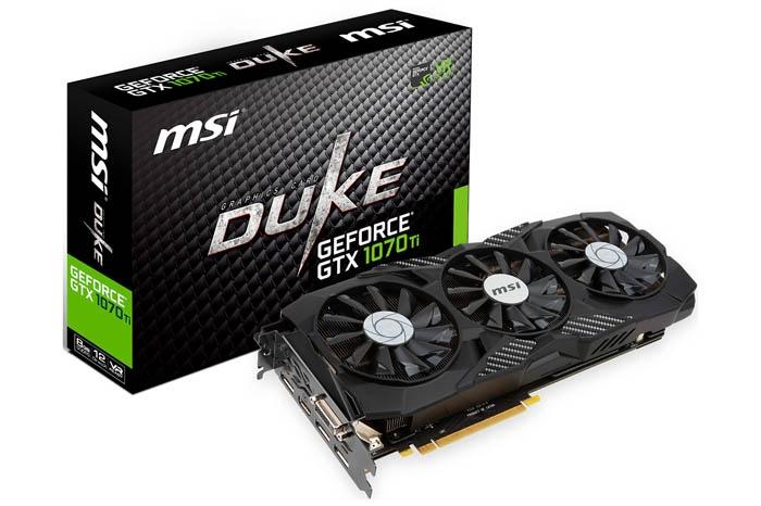 NVIDIA e i partner lanciano la GeForce GTX 1070 Ti 7