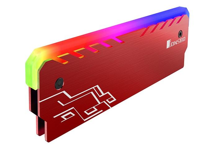 Jonsbo NC-1: dissipatori per RAM con LED RGB 2