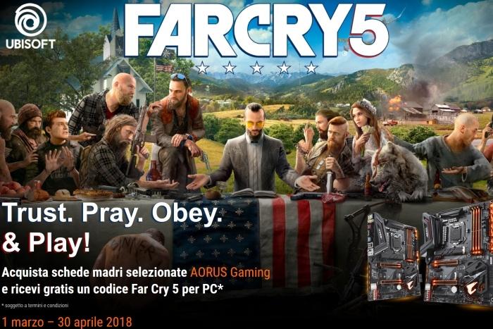GIGABYTE estende la promozione su Far Cry 5 1
