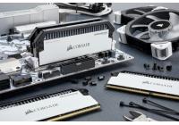 Disponibili da oggi i nuovi kit di memoria DDR4 Dominator Platinum da 3466MHz in una accattivante livrea bianca.