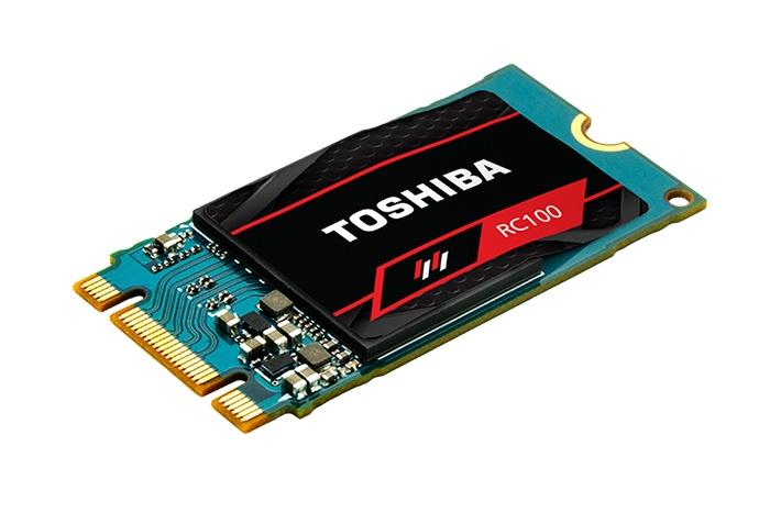Toshiba annuncia la disponibilità degli RC100 1