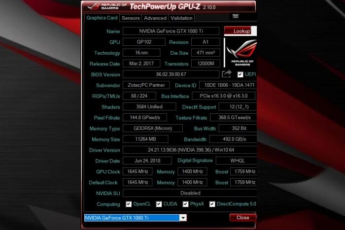 TechPowerUp rilascia GPU-Z 2.10.0 1