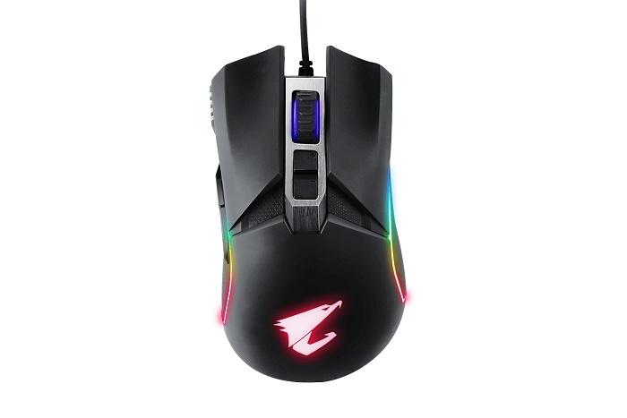 GIGABYTE svela il mouse gaming AORUS M5 2