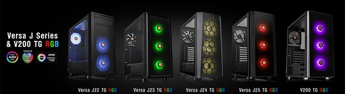 Thermaltake svela i case Versa J e il V200 2