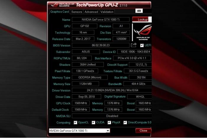 TechPowerUp pubblica GPU-Z 2.11.0 1