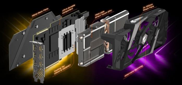 GIGABYTE annuncia le AORUS RTX 2080 e 2080 Ti 4