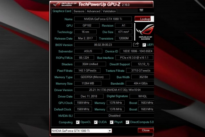 TechPowerUp rende disponibile GPU-Z v2.16.0 1