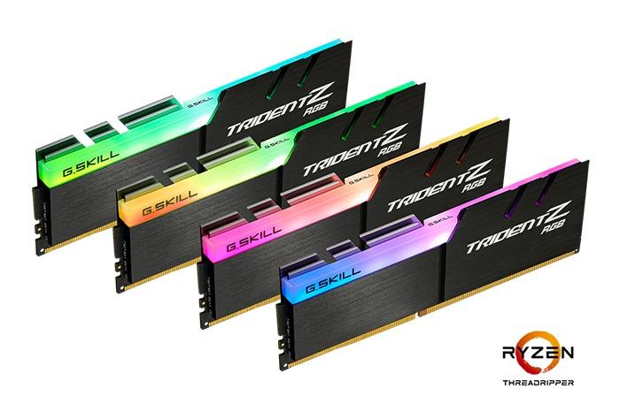 G.SKILL annuncia le Trident Z RGB 3466MHz per AMD X399 1