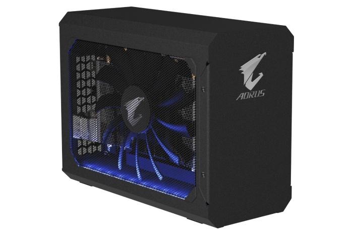 GIGABYTE rilascia l'AORUS RTX 2070 Gaming Box 1
