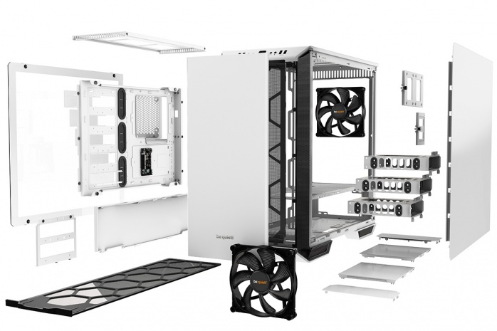 be quiet! svela il Dark Base 700 White Edition 2