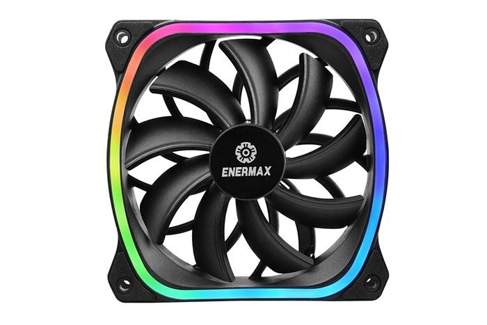 ENERMAX presenta nuovi prodotti con ventole SquA RGB 2