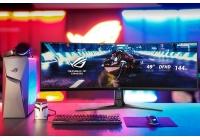 Un super monitor in formato 32:9 adatto, in particolare, alle simulazioni ed ai giochi di guida.
