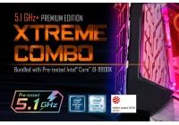 CPU Core i9-9900K selezionata e AORUS XTREME WATERFORCE per prestazioni senza compromessi.